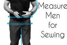 How to measure men for sewing