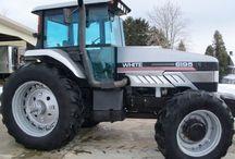 Tracteur AGCO WHITE
