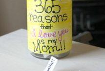 ideas bonitas(dia de la madre)