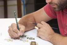 Jewelers at work. / Pictures from Carrera y Carrera workshop in Madrid.
