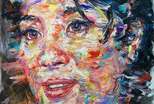 Michelle Yeoh  / 200 x200 oil on canvas