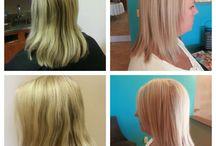 Medium Hairstyles / Hairspo for medium-length hair.