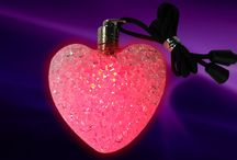 Valentines Glow / Some Valentine's Day Glow Ideas! Light Up products and craft ideas for Valentine's day, Anniversaries, Weddings or any other romantic setting! Show your love with light!