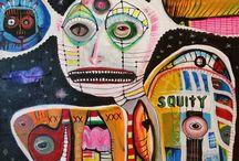 Outsider Art - Bugatha