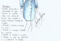 modelagem vestidos