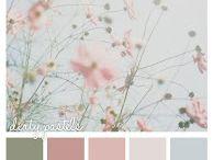 цветовая гармония природы в интерьре и тканях