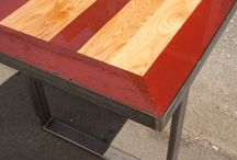 Table Bases + Legs / These aren't your typical table bases...  We love getting creative when it comes to table legs! Here are some projects + inspirations.