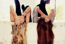 Kayla&Grace haircuts