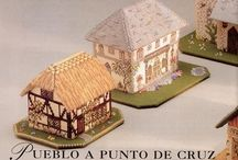 Crafties: Embroidery Little Houses