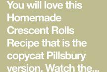 crescent rolls (homemade)