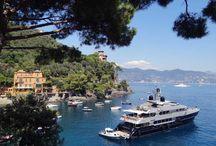 Portofino, Italy. / Enchanting Portofino, Italy.