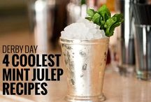 Mint Julep Recipes / classic mint julep recipes and modern twists on this traditional drink. Fill your julep cups with these delicious cocktails for Derby Day, weddings, or any night you want a refreshing cocktail. Try a fun mint julep with fruit or an infused bourbon.