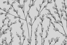 Florence Broadhurst Sleepwear- Innocence Print / Innocence Print on soft Modal in Duckegg and Rhubarb