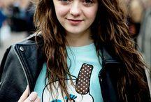 Maisie Williams (Arya Star)