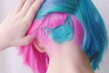 diseños en el cabello