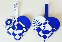 Flettede hjerter