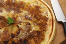 Pizzas aux pommes / Découvrez les #recettes de #pizzas aux pommes, qui vont étonner par leur originalité et leur saveur !