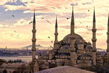 Turkey / Turkey is a nation straddling eastern Europe and western Asia with cultural connections to ancient Greek, Persian, Roman, Byzantine and Ottoman empires. Cosmopolitan Istanbul, on the Bosphorus Strait, is home to the iconic Hagia Sophia, with its soaring dome and Christian mosaics, the massive 17th-century Blue Mosque and the circa-1460 Topkapı Palace, former home of sultans.