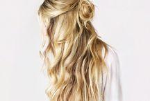 hair, braids and buns