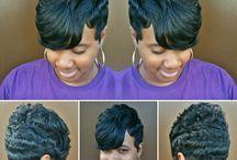 Cut hairstyles