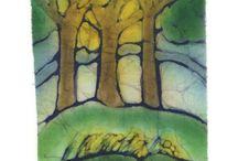 letní stromy