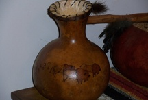 Gourds & More / My own Handcrafted Gourds from my Garden