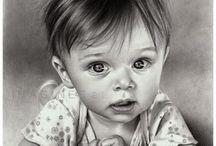 rysunek artystyczny-portrety