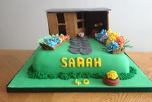 40th birthday cakes / Homemade bespoke cakes