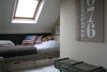 Slaapkamer Dean