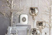 Ornamenti natalizi eleganti