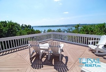 Beautiful Sound Views / Topsail Sound views from our soundfront rentals
