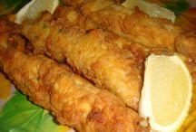 Receta con pescado