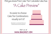 Cake Calculators / Easy to use, web based calculators for cake makers.