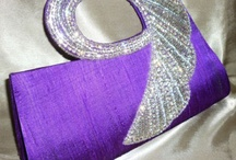 Purple Bag & Wallet