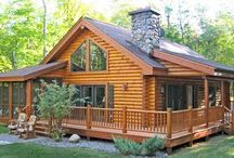 HOUSES - PLANS - LOG CABINS / Holiday cottages all year round Smail houses modern decor