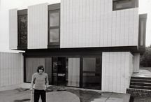 George Best's House / George Best's Modernist House in rural Woodford near Manchester