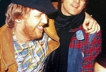 John Lennon and Harry Nilsson ✌