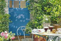 Outdoor space / Ideas for my little English garden x / by Katy from Modern Mummy