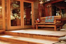 Wood Decks & Stain / Wood decks provide classic beauty and creates a style that composite or PVC decks simply cannot match.  Penofin wood stain keeps decks looking rich and new. / by DIY Home Center