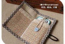 carteira de mão porta celular