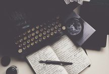 poems, typewriters and some art stuff//