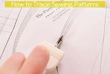 How to use Dressmaker Tracing Paper / how to use our tracing paper