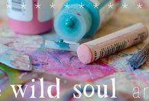 art retreats, inspirational e-courses, etc