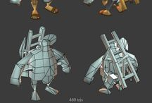 3D Lowpoly Models