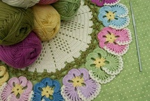 Craft: Crochet-Thread / Doiles, Filet, and other items using thread instead of yarn. / by Jeanette Schwarz