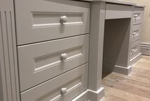 Hand painted furniture / Hand painted furniture is something of pure love and passion, it's also a very effective way of matching your kitchen or furniture to your chosen colour schemes.