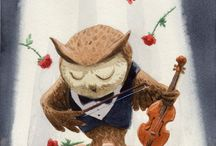 Owls illust