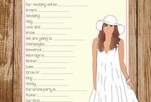 Bachelorette & Shower Ideas