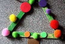 Christmas Crafts for Toddlers / Crafts