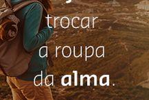 Viajar é... ✈